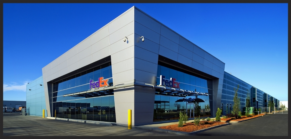 FEDEX Courier Depot Edmonton,AB Canada