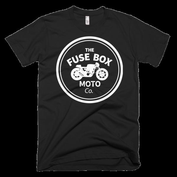 Fuse Box Moto Co. Circle T-Shirt