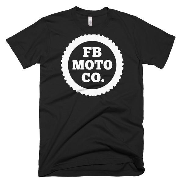 Fuse Box Moto Short Sleeve Men's Moto X Tire T-shirt