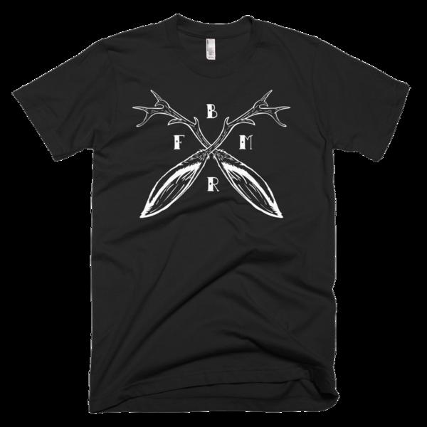 Fuse Box Moto Riders Jackalope Horns T-Shirt