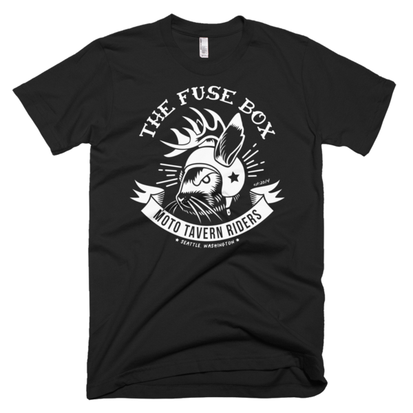 Fuse Box Moto Riders Jackalope T-Shirt