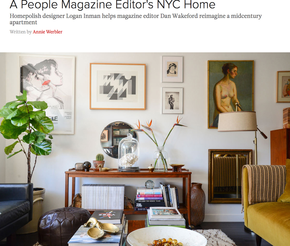 A People Magazine Editor's NYC Home