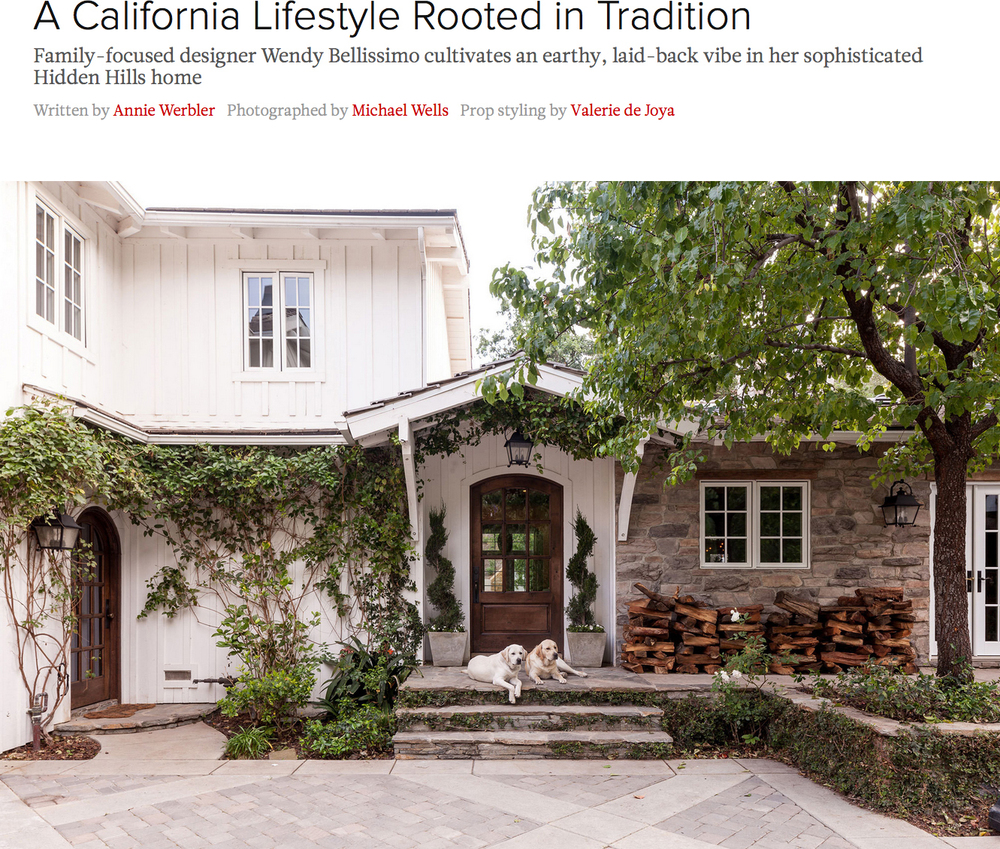 A California Lifestyle Rooted in Tradition