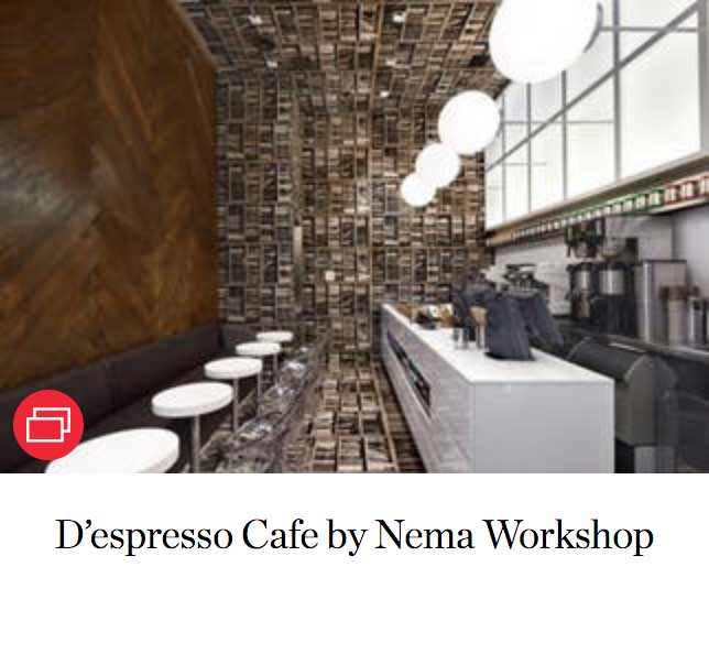 D'espresso Cafe by Nema Workshop