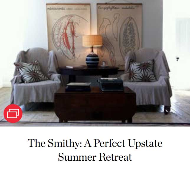 The Smithy: A Perfect Upstate Summer Retreat