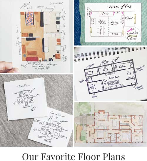Our Favorite Floor Plans