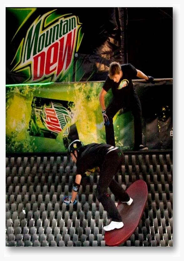 Mountain Dew Brushboarding