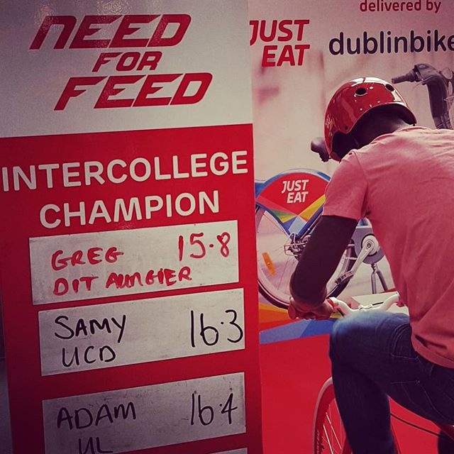 This time next week we will be announcing this year's #NeedForFeed intercollege champion😎🚴‍♂️🚴‍♂️🚴‍♂️. Just 2 colleges to go. Some beastly performances put in this year!!👏👏👏👏 . .  #NeedForFeed #bikes #bikesprints #Justeat #headcase #roadshow #experiential #goldsprints #students #marketingmadness #creativemedia @justeatie