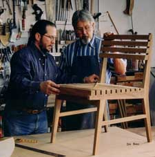 Paul and Doug Paschal continue the tradition of craftsmanship begun by their father, William R. Paschal.