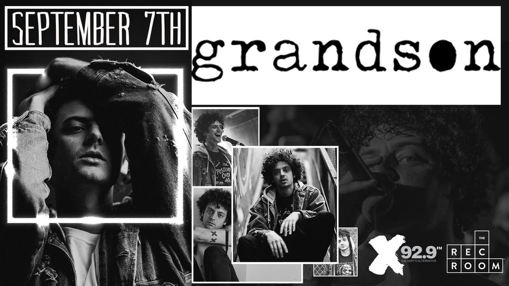 Friday, September 7th @ The Rec Room Calgary w/ grandson + Open Air -