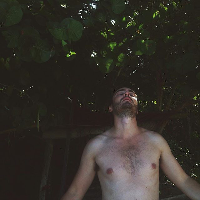 A moment of a man in a jungle 🌿 Costa Rica. #futurerunnerupforalbumcover