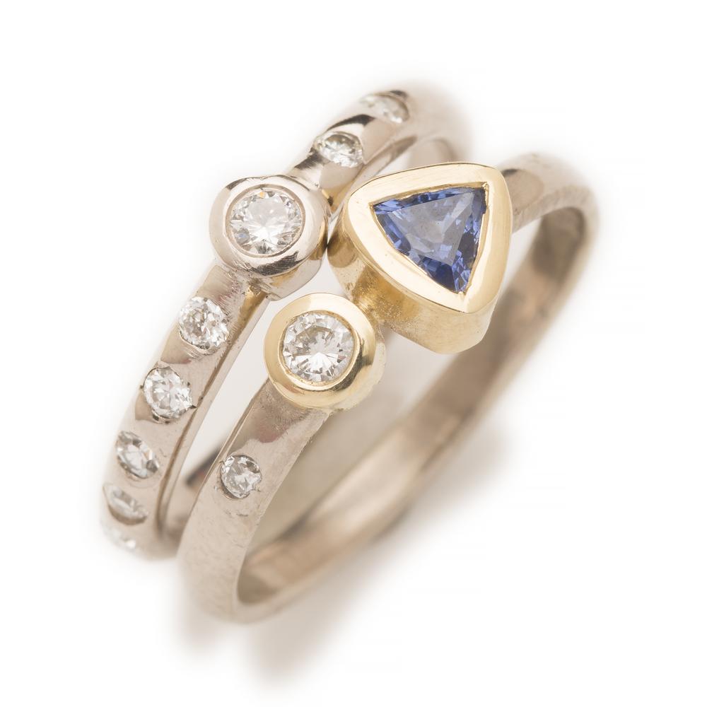 Custom 2 rings