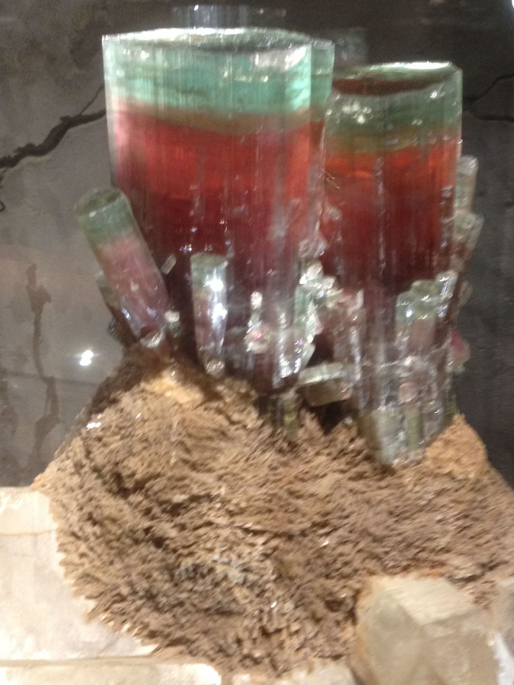 Tourmaline Specimen at the Smithsonian