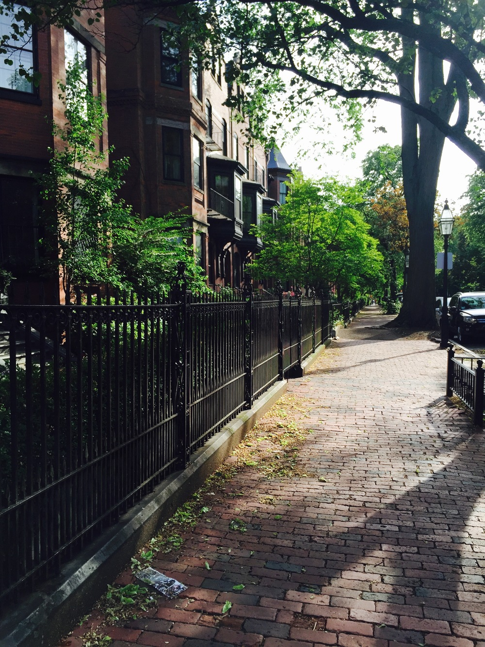 Marlboro Street in the Back Bay of Boston