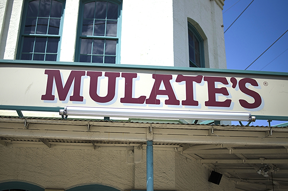 Mulate's the Original Cajun Restaurant off Julia St in Downtown New Orleans