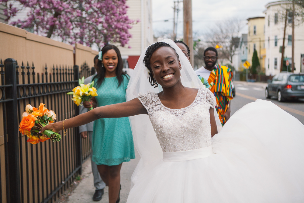 This eclectic bride, who's become more than a client, but a friend to me.
