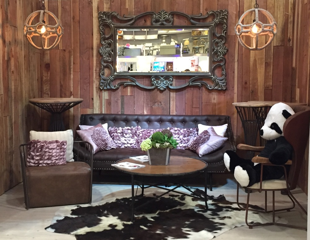 A visit to blueprint studios samantha smith productions we loved this chic western display the perfect mix of rustic and glamour malvernweather Choice Image