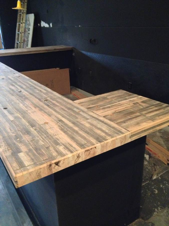 TIMBER ARTISANS LLC - Reclaimed oak table top