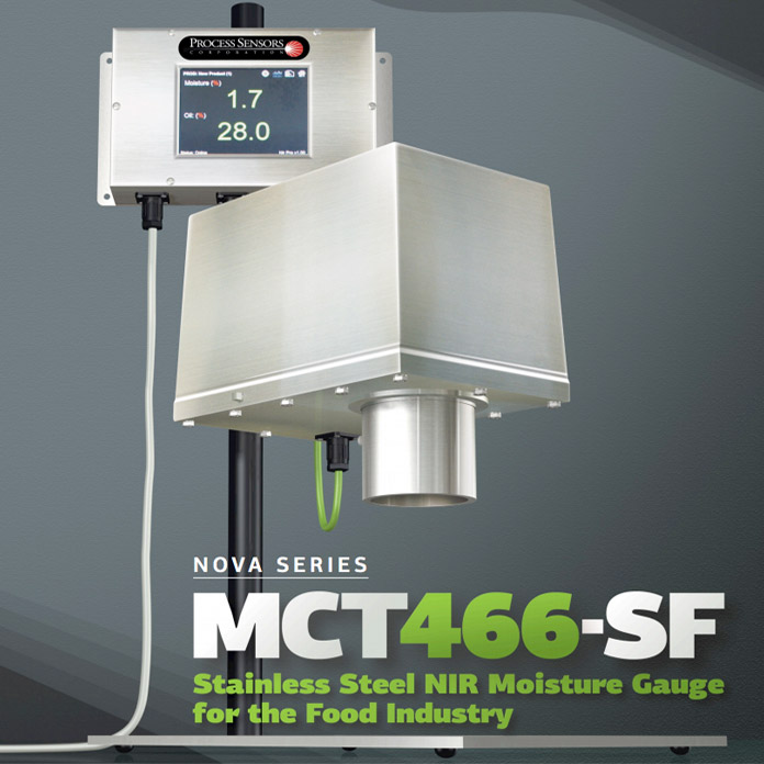 Moisture Analyzer for Food Grade - MCT466-SF