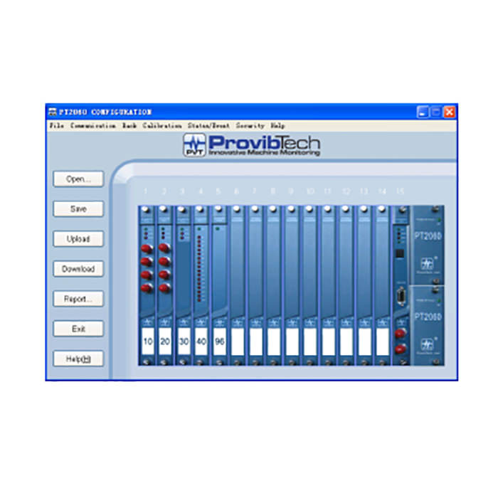 PT2060-CFG System Configuration Software