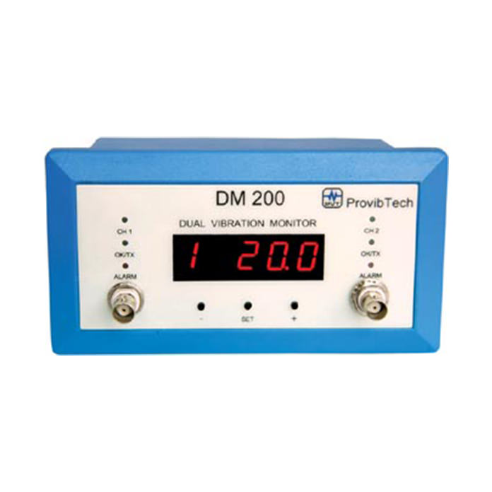 Dual Channel Vibration Monitor - DM 200