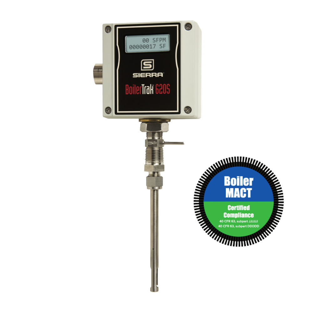 BoilerTrak™ 620S BT Mass Flowmeter