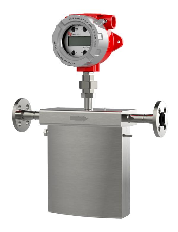 Coriolis Mass Flow Meter - Badger Meter RCT1000