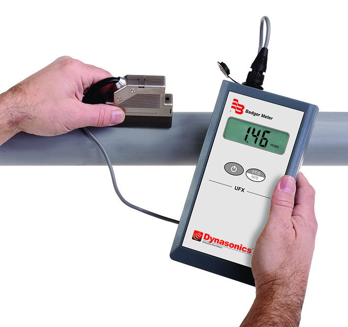 Portable Ultrasonic Flow Meter (Doppler) - UFX