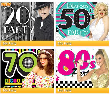 Pick a decade, any decade and we can provide the decor, tunes and an amazing night!