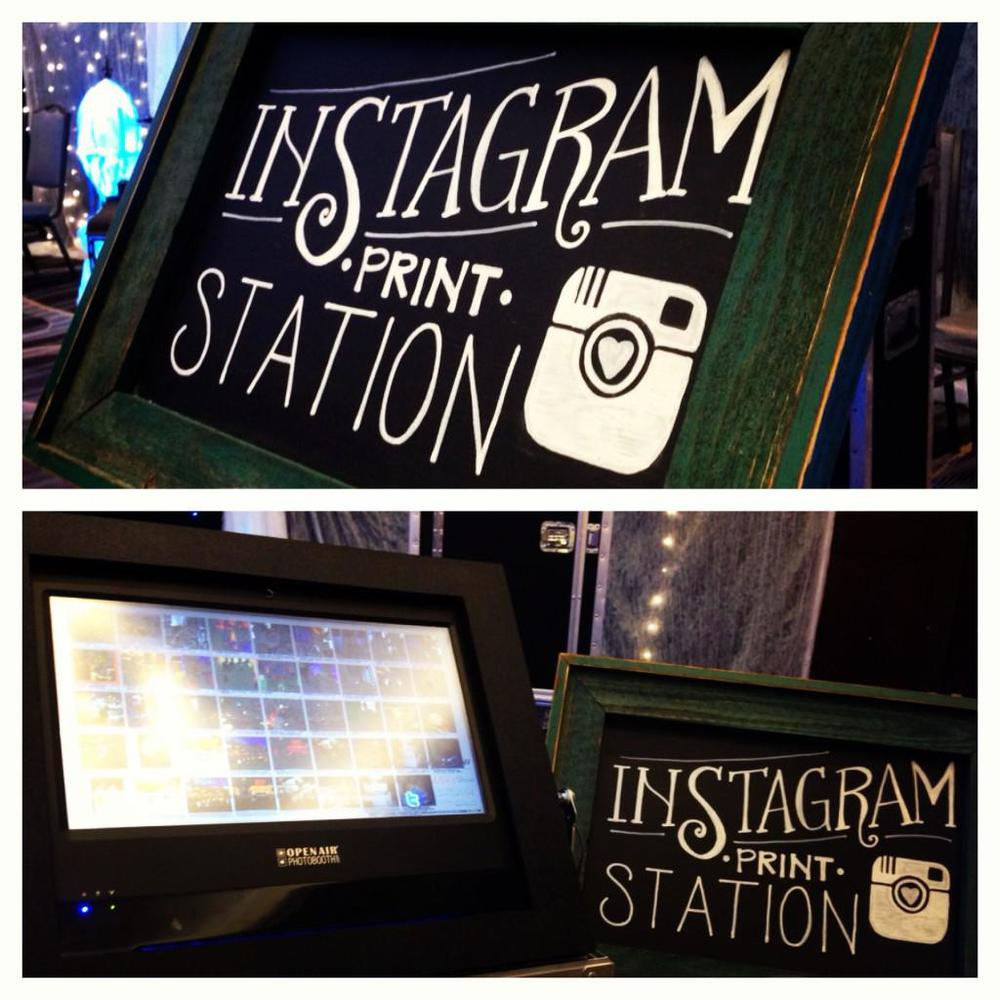 Instagram Print Station