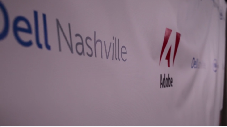 Customized banners we create for our Nashville corporate clients