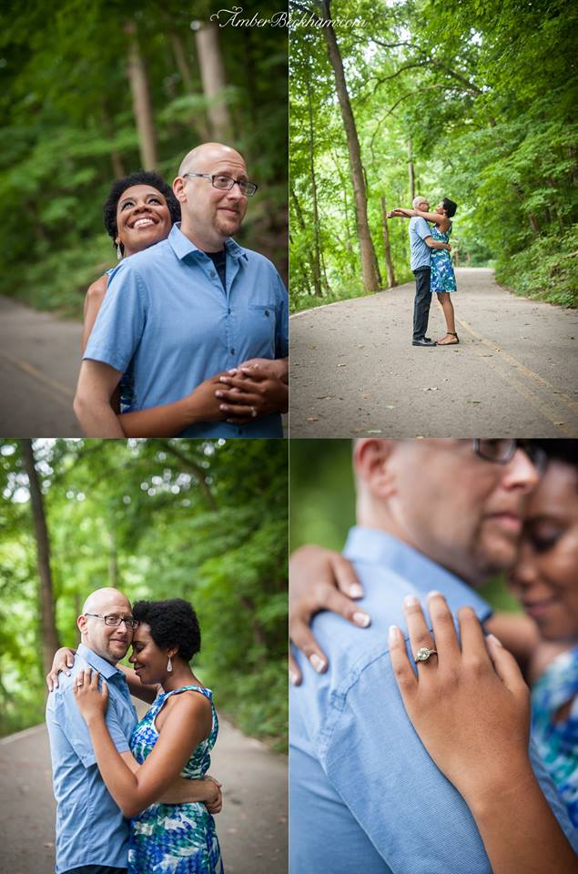 Amber Beckham Photography | Jen + Ira's Engagement Portraits