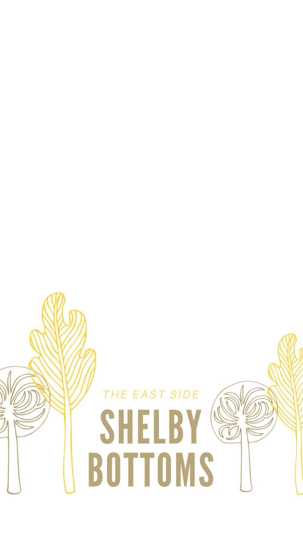 Yellow Tree Outline Local Park Community Snapchat Geofilter.png