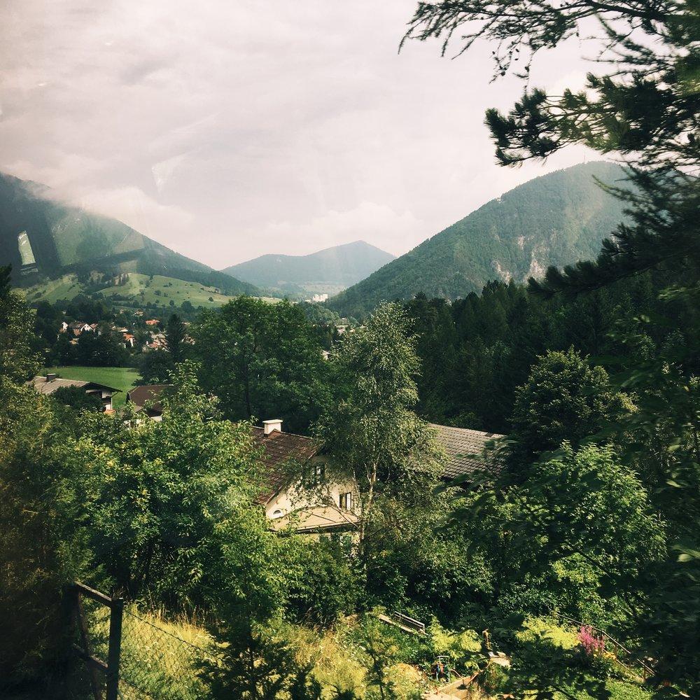 green schneeberg view.JPG
