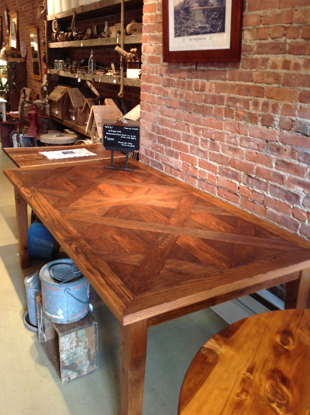 2. Herringbone Antique Oak