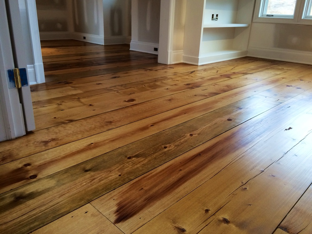 Eastern White Pine Flooring 2