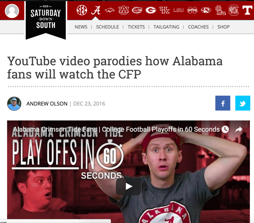 http://www.saturdaydownsouth.com/alabama-football/youtube-video-parodies-alabama-fans-will-watch-cfp/
