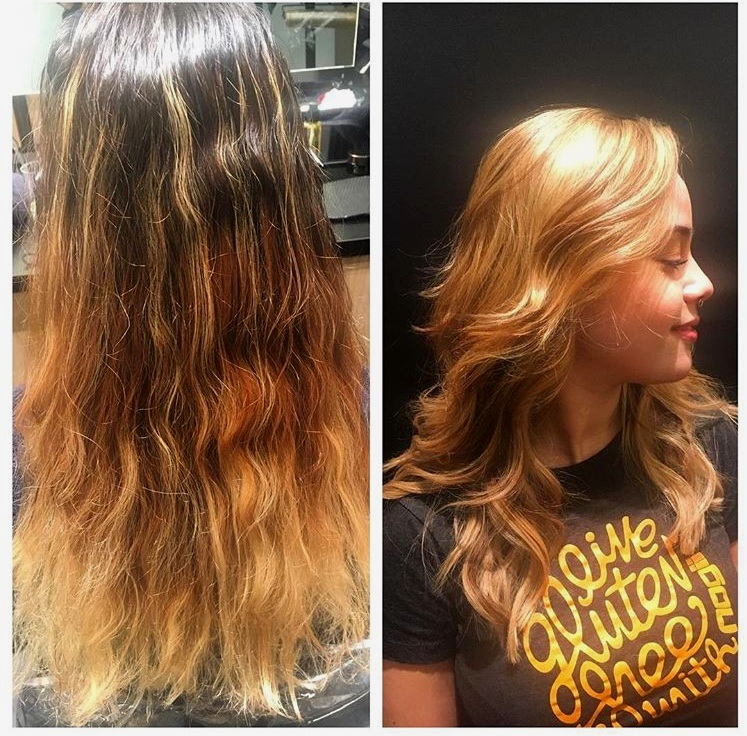 Corrective Color Balayage Highlight
