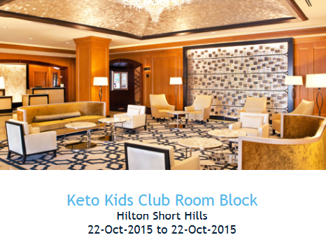 Hotel Rooms have been reserved for attendees.  Please click on the image above to reserve a room at the Hilton Short Hills