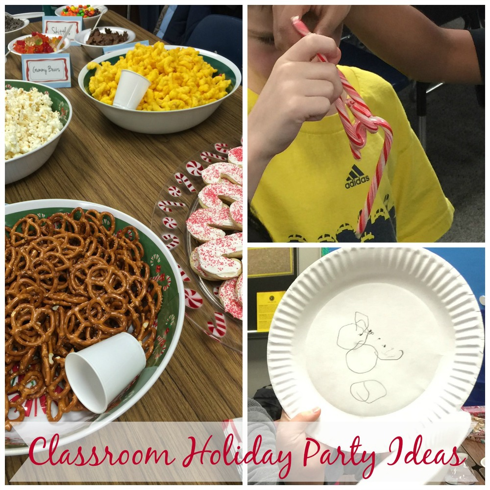 Classroom Christmas Party Ideas Part - 18: Dec 19 Classroom Holiday Party Ideas For Fifth Graders