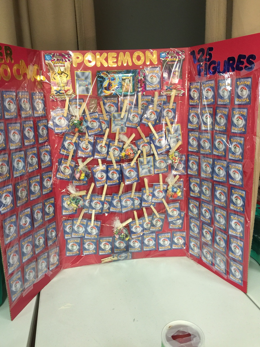 "Any Pokemon fan will go nuts for this theme ""basket."""