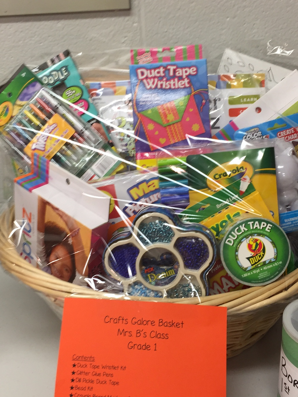 school fundraiser gift basket ideas — home & plate - easy seasonal