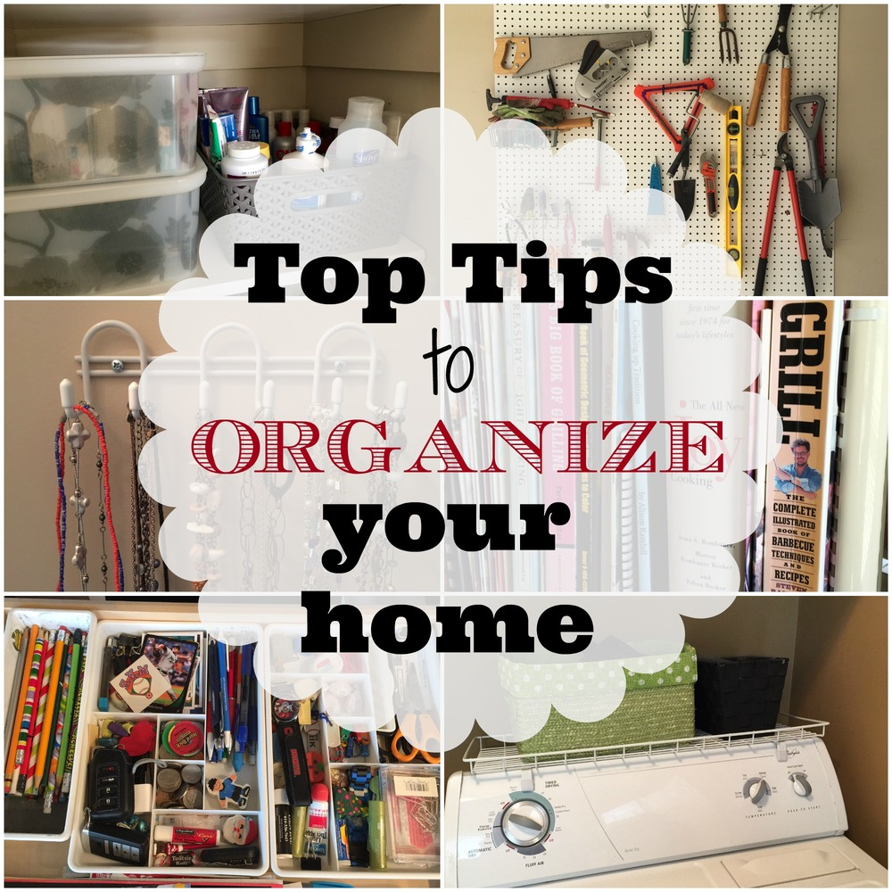 Top Tips to Organize Your Home — Home & Plate