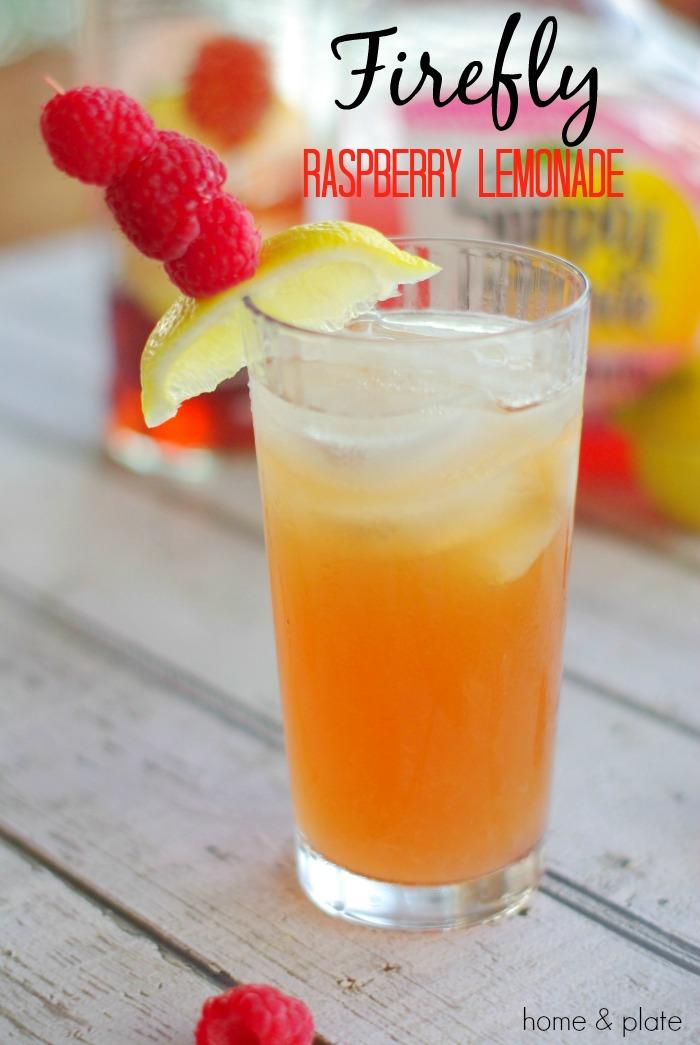 Firefly raspberry lemonade cocktail home plate fresh for Iced tea cocktail recipes