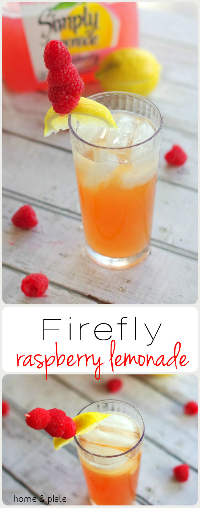 Firefly Raspberry Lemonade Cocktail — Home & Plate - Fresh Ideas ...