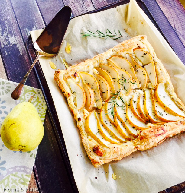 Pear Tart with Goat Cheese Rosemary \u0026&; Honey | Home \u0026&; Plate | & Pear Tart with Goat Cheese Rosemary \u0026 Honey \u2014 Home \u0026 Plate