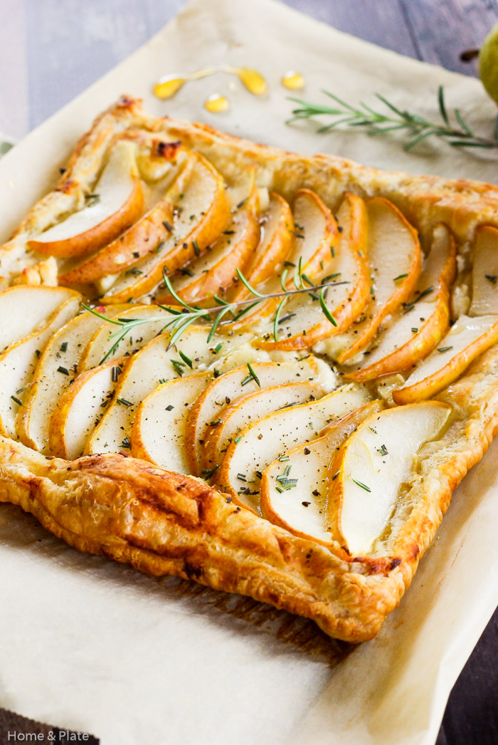 Pear Tart with Goat Cheese, Rosemary & Honey — Home ...