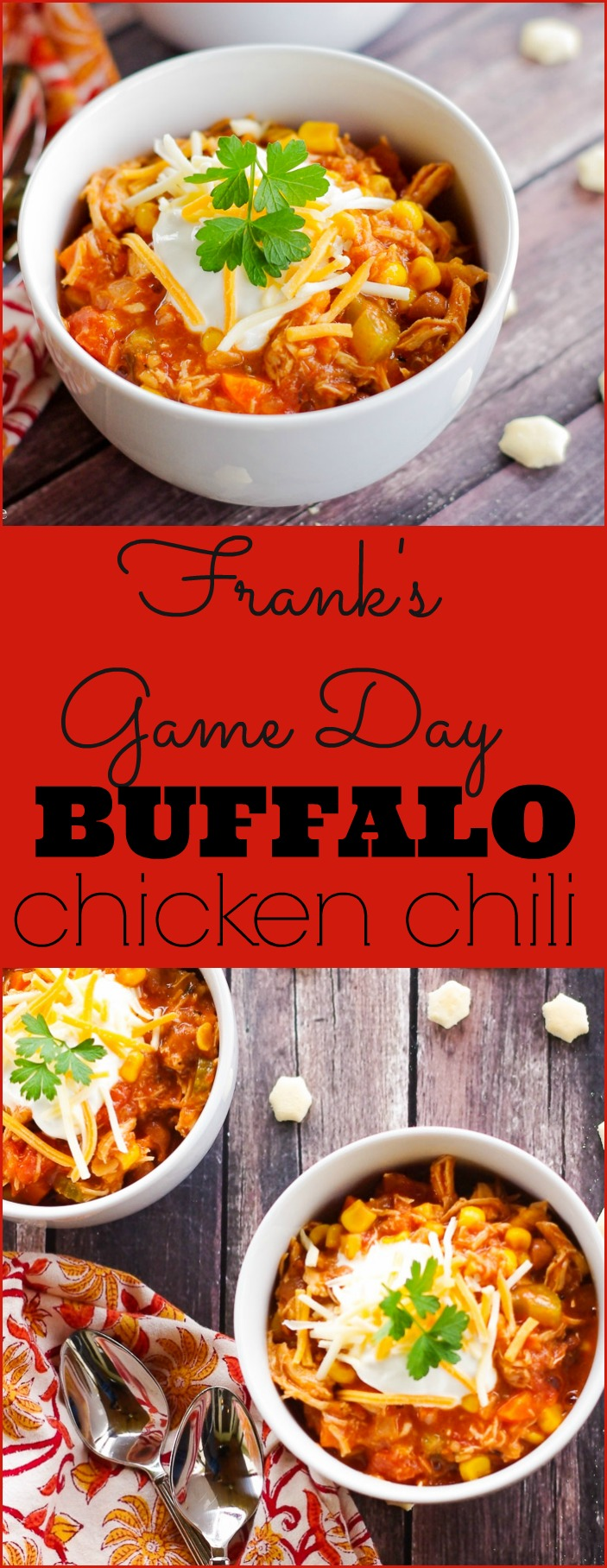 Frank's Game Day Buffalo Chicken Chili — Home & Plate - Fresh Ideas ...