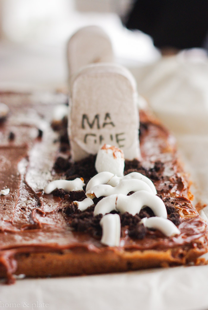 Graveyard Tombstone Brownies — Home & Plate - Fresh Ideas & Simple ...