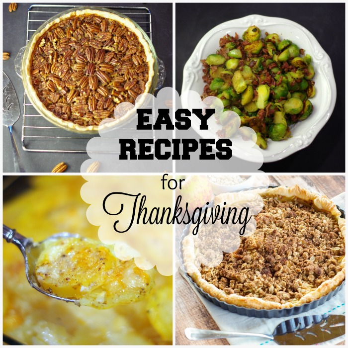 5 Great Recipes for Thanksgiving (+ 10 Great Wines for the Holidays) | www.homeandplate.com | Cook up these great sides and desserts to go with a variety of wines.
